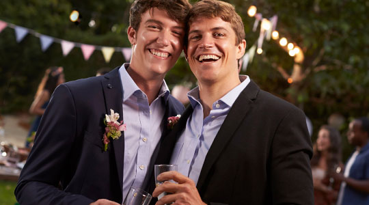 Gay men in the modern world