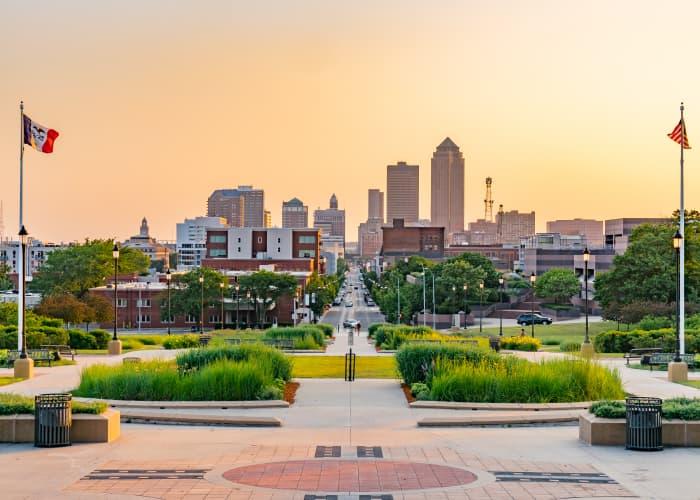 Des Moines city