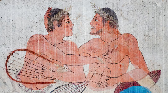 Some facts about the history of homosexuality