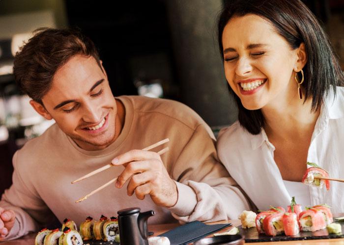 Dine at an Asian Cuisine Restaurant